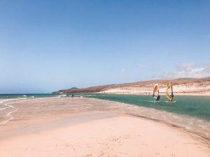 la splendida playa de sotavento