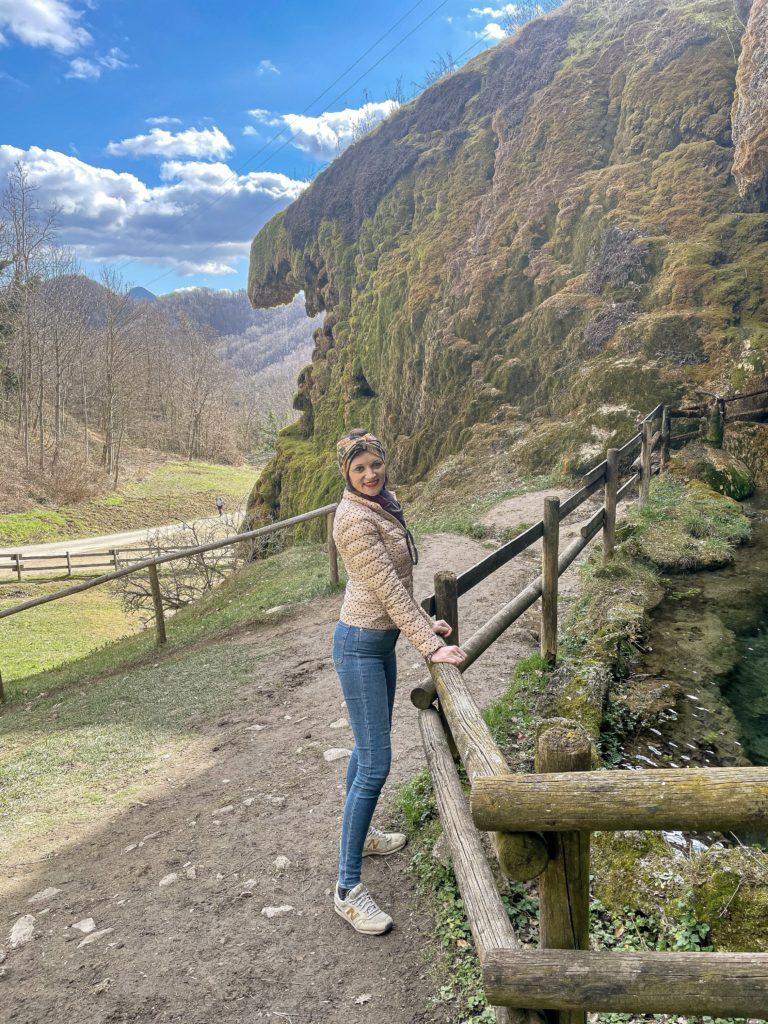la mia visita alle grotte di Labante