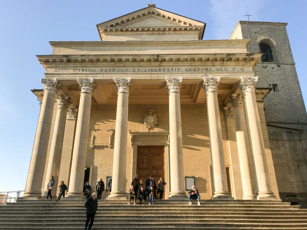 La Basilica intitolata a San Marino custodisce parte delle reliquie del fondatore della Repubblica sammarinese