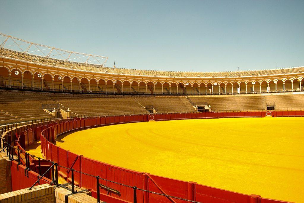cosa vedere 6 giorni in Andalusia in tempi di Covid: la Plaza de Toros di Siviglia