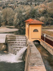 La Chiusa di San Ruffillo è fondamentale per la regolazione dell'acqua da immettere nel canale