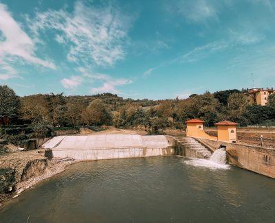 la chiusa di San Ruffillo è una delle infrastrutture più importanti per l'economia medievale di Bologna