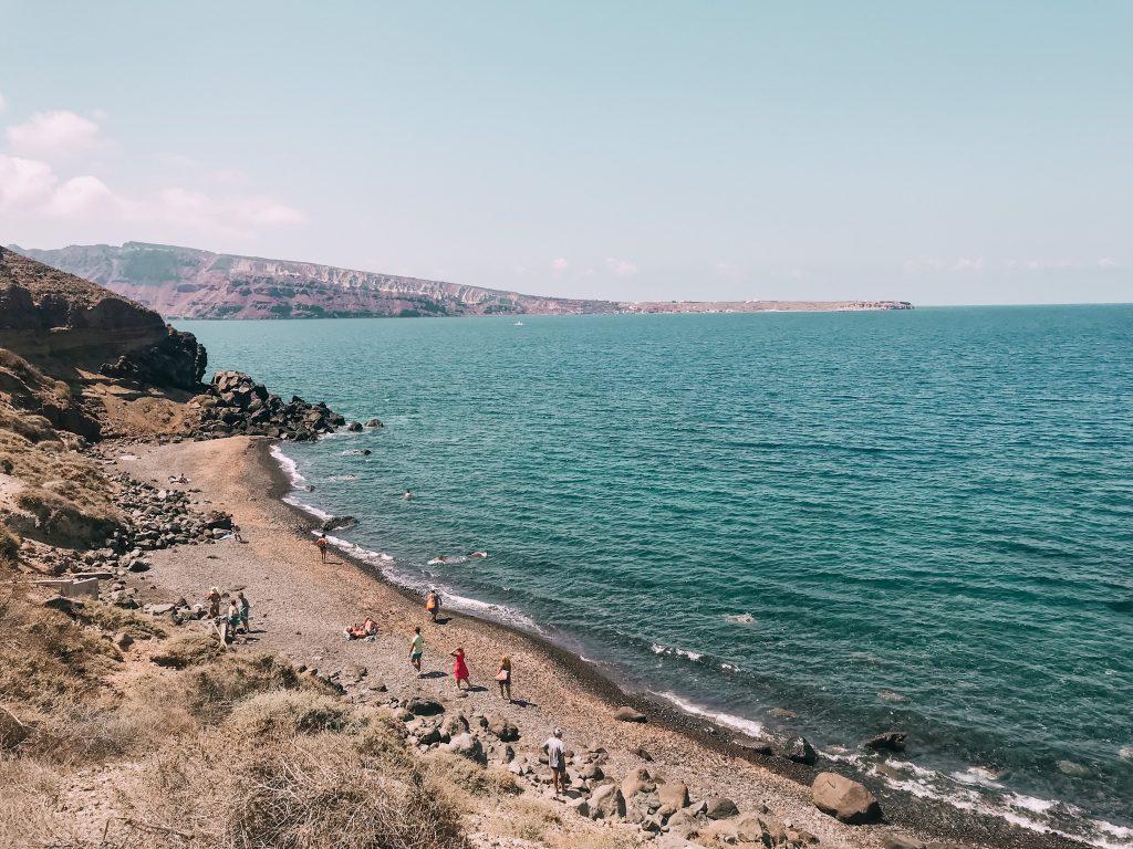 L'isolata spiaggia di Katharos è perfetta per chi cerca tranquillità e pace