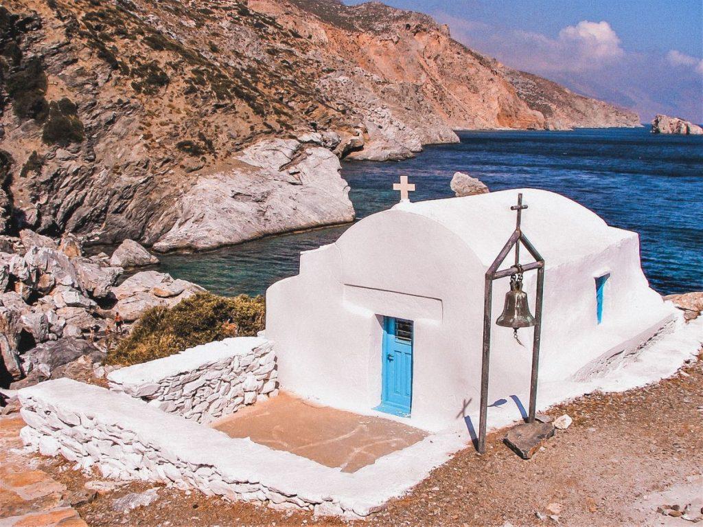 Amorgos è una delle isole dove è ancora molto evidente l'antico stile di vita greco