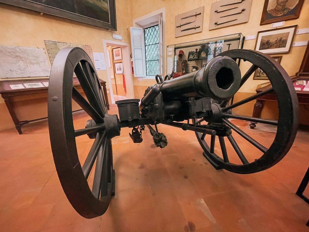 Il Museo Risorgimentale di Solferino custodisce alcuni tra i cimeli più importanti dell'omonima battaglia