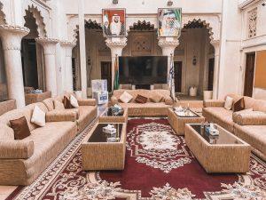 una tipica abitazione di Al Fahidi, oggi aperta al pubblico e alle visite