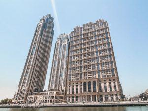 lo splendido complesso alberghiero extra lusso di Al Habtoor City, luogo perfetto dove alloggiare a Dubai