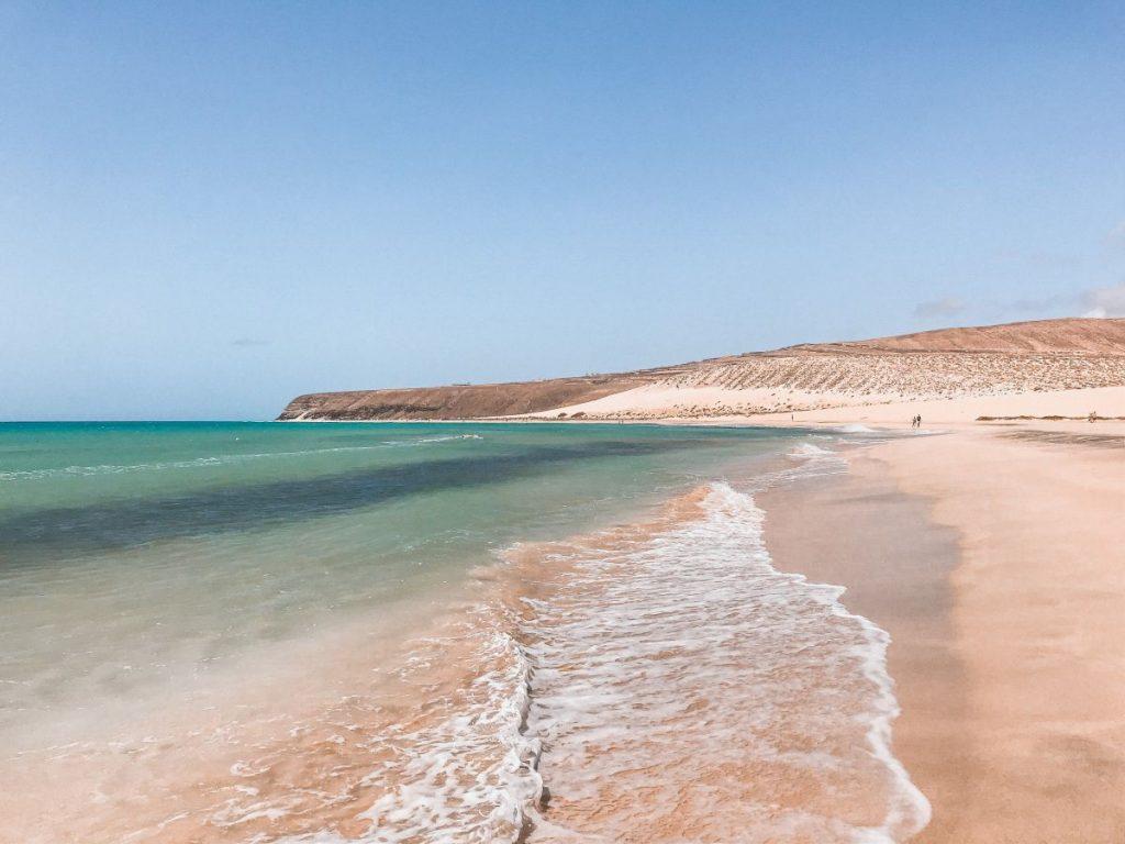Playa de Sotavento è uno dei luoghi più incontaminati di Fuerteventura