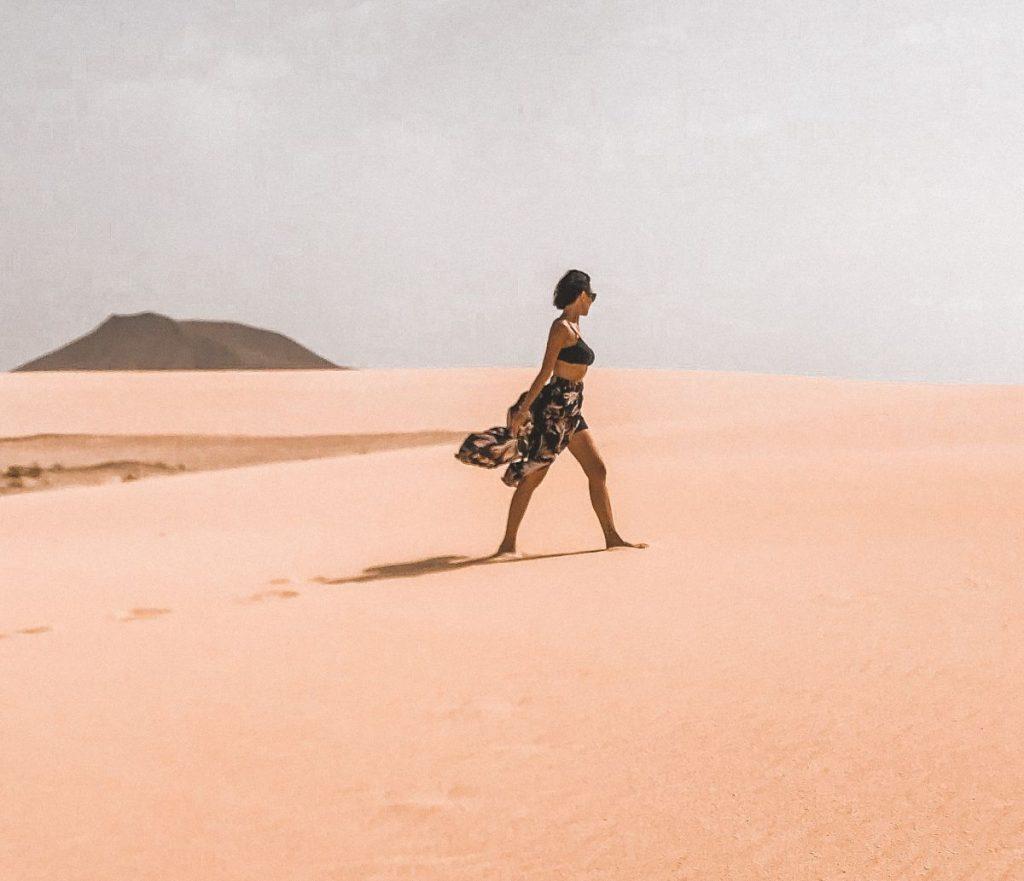 le dune di Corralejo sono una delle cose più belle che vedrete a Fuerteventura