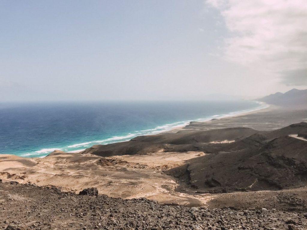 Playa de Barlovento è uno dei luoghi più selvaggi di Fuerteventura