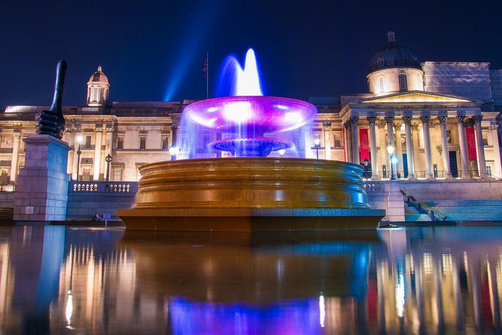 Trafalgar Square a Londra è una delle piazza più belle d'Europa