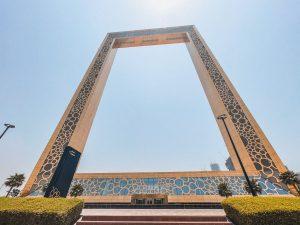 La Dubai Frame è uno dei monumenti più iconici di Dubai