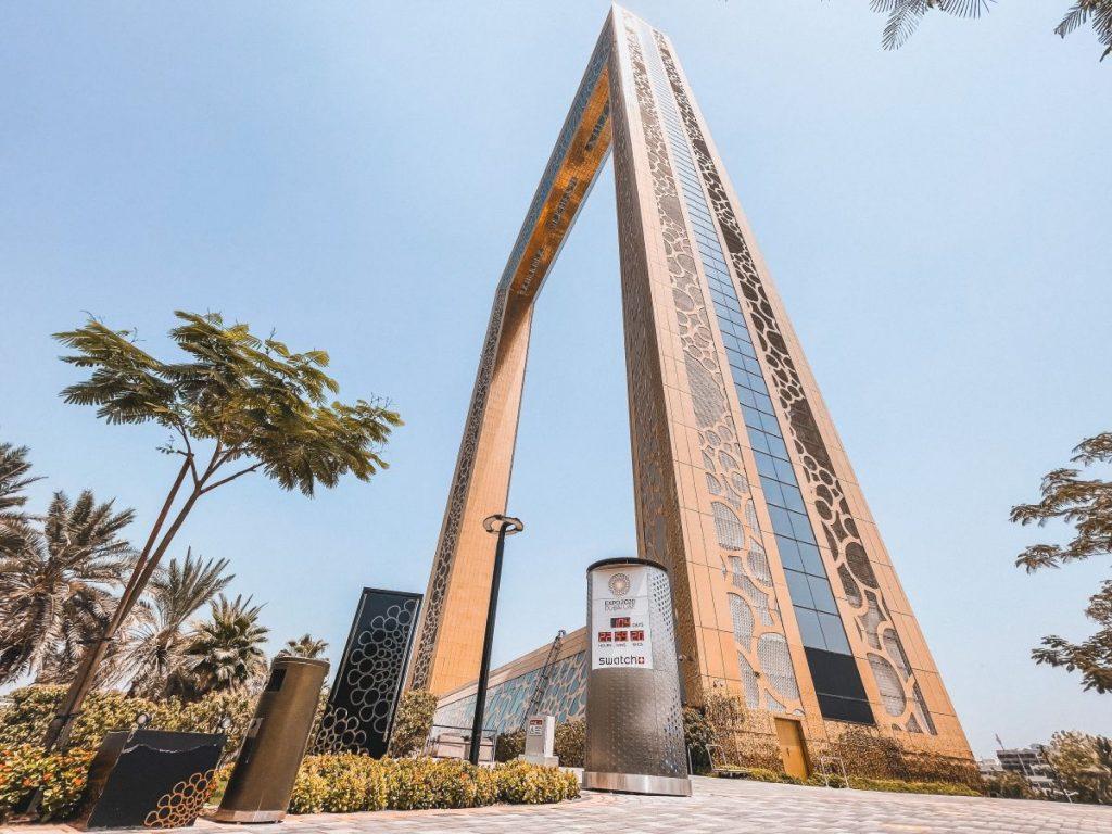 Dubai Frame è la grande cornice a Dubai