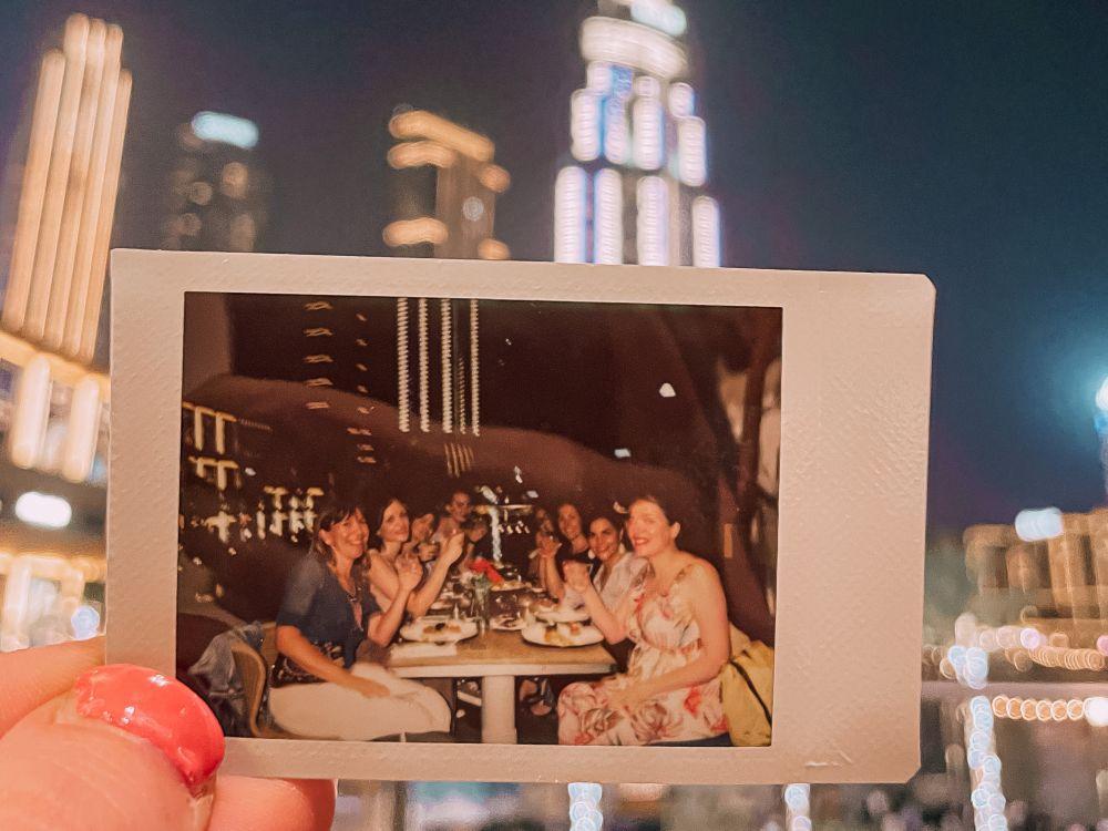 le travel blogger Italiane al Ristorante Gia di Dubai