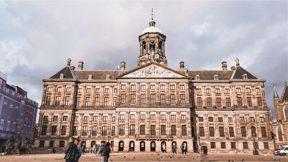 Piazza Dam ad Amsterdam