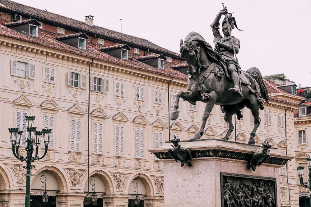 Piazza San Carlo a Torino