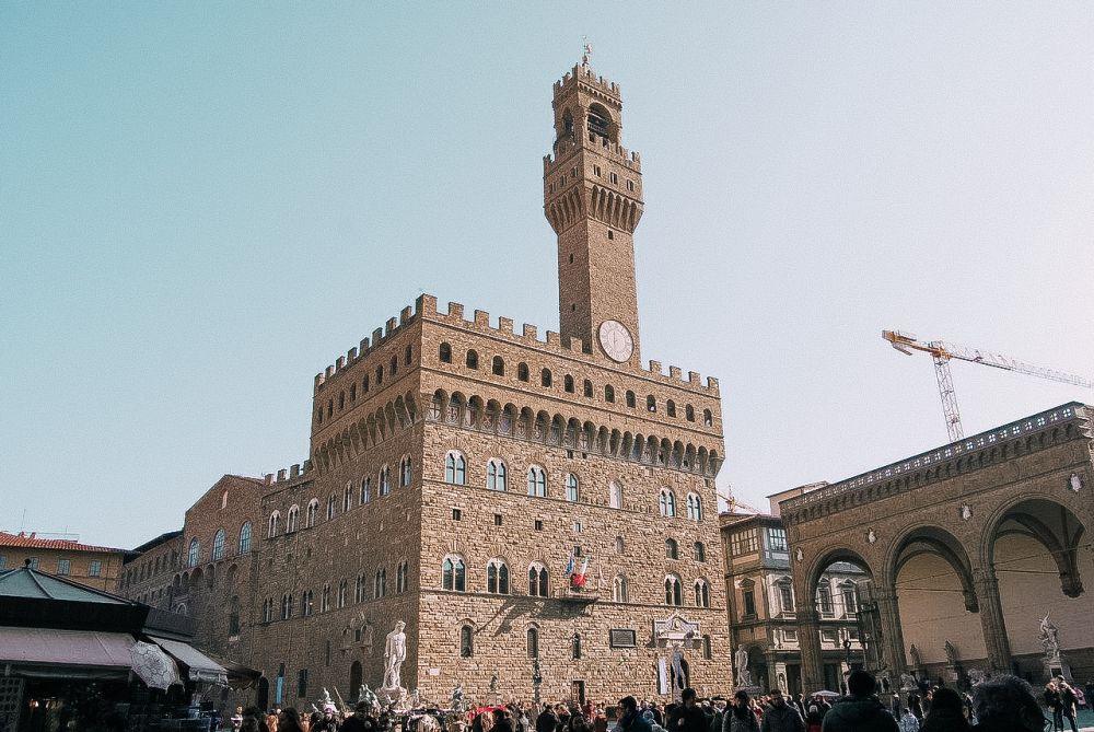 piazza della Signoria simbolo di Firenze