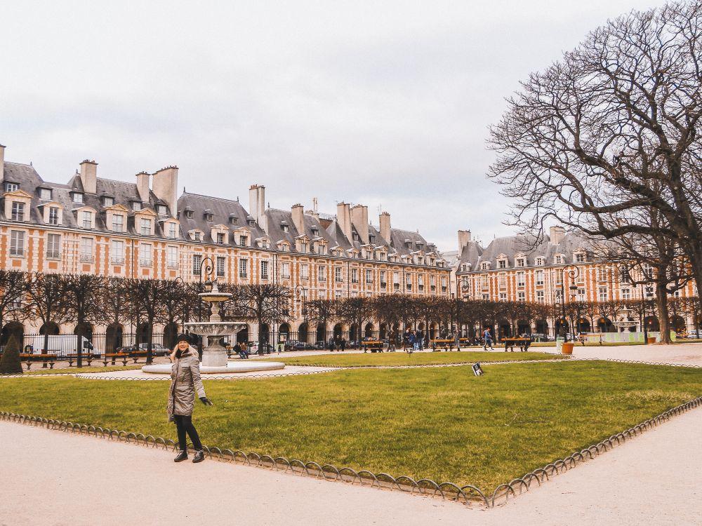 Place des Vosges è uno dei luoghi più belli di Francia
