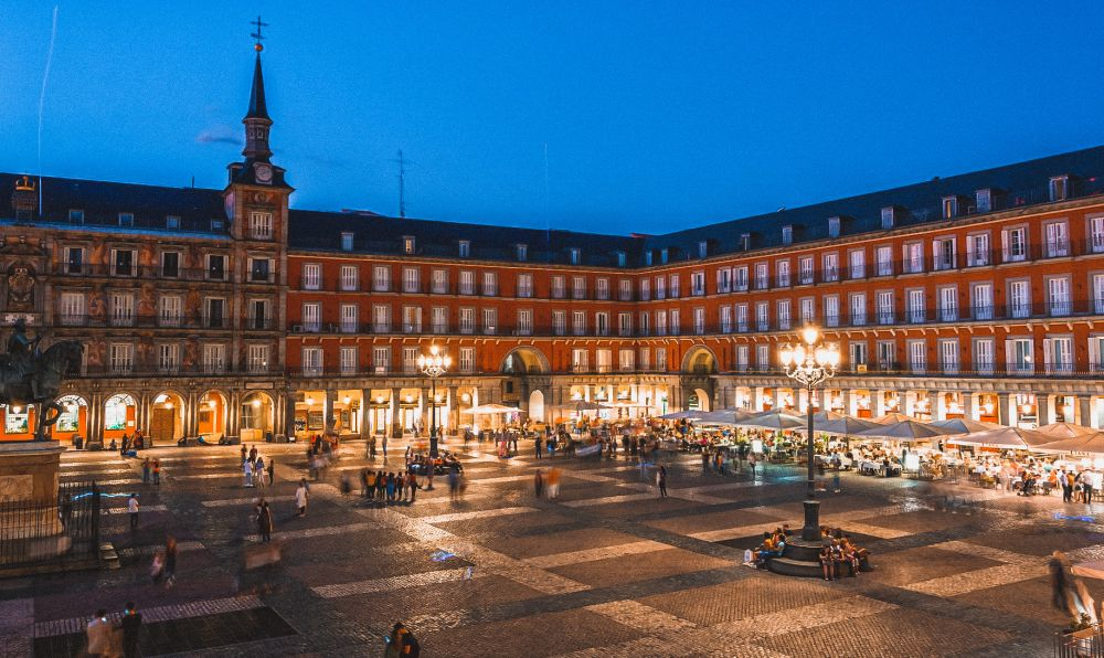 Plaza Mayor a Madrid, una delle piazze più belle d'Europa