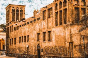 l'antico quartiere di Al Fahidi, il più vecchio insediamento di Dubai