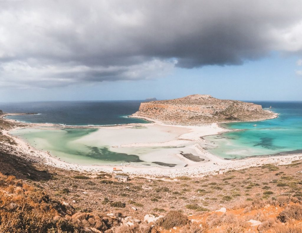 La laguna di Balos è sicuramente uno dei luoghi più originali del mondo e più suggestivi dell'isola di Creta