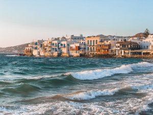 la Piccola Venezia caratterizza il centro di Mykonos Town