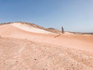le splendide dune di playa de sotavento, impossibile resistere