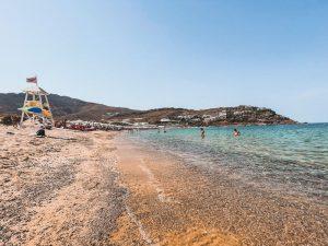 Mykonos e le sue spiagge dorate