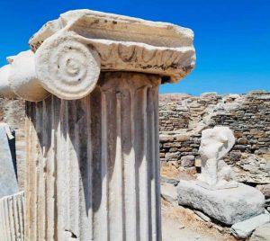 il parco archeologico dell'isola di Delo è patrimonio UNESCO