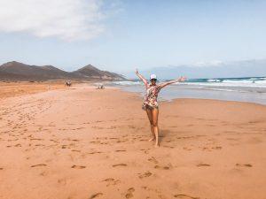 mi sono sentita libera su playa de barlovento