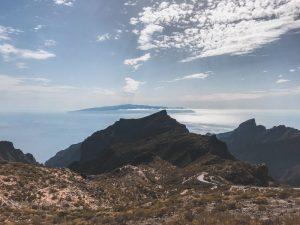 la splendida vista da Masca sull'isola di La Gomera