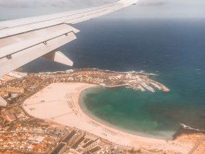 il mio volo alla volt delle Isole Canarie