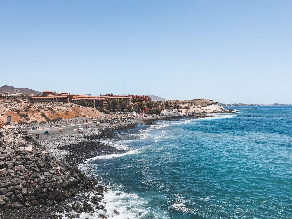 Playa del Duque nei pressi di Playa de Abama a Tenerife