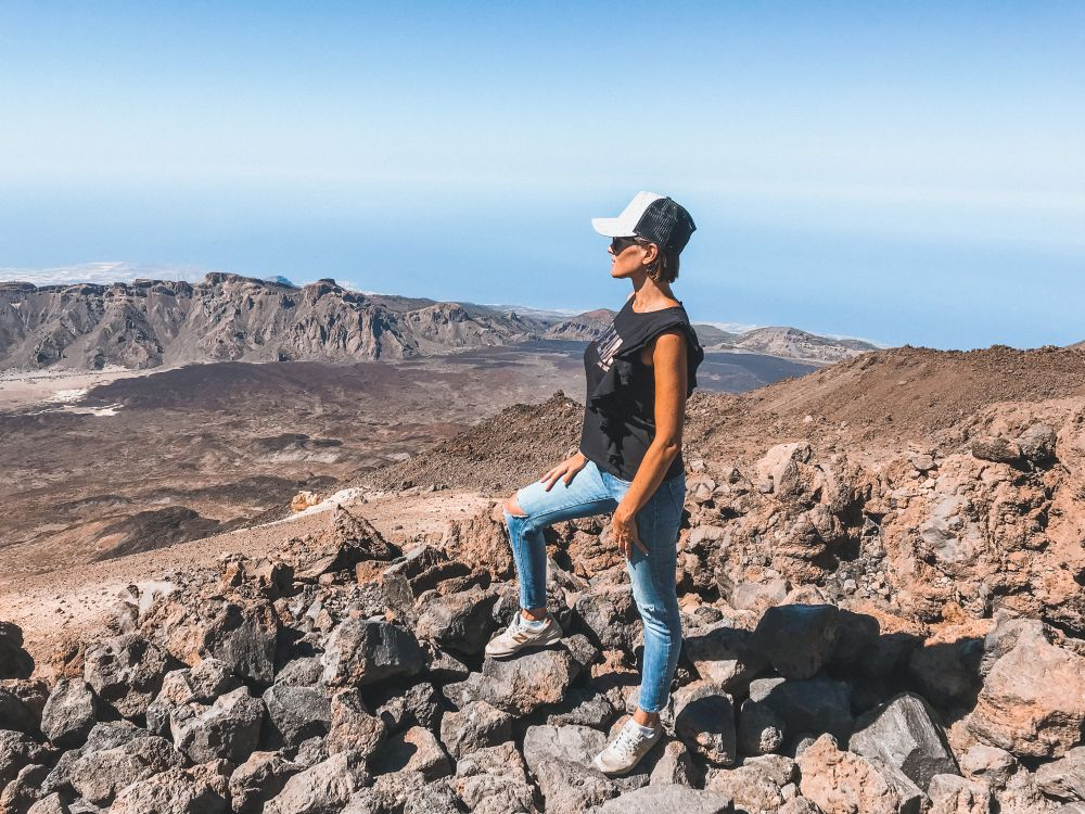 la salita sul Teide a Tenerife