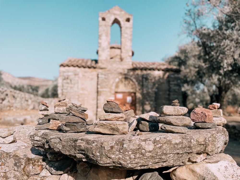 la splendida chiesa bizantina di San Giorgio Diasorites
