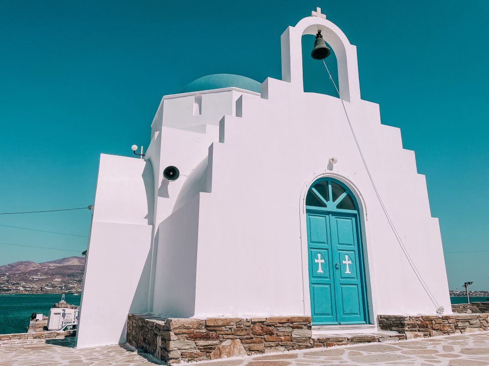 la Chiesa di Agia Marina ad Antiparos