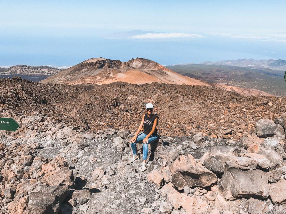 sulla cima del Teide